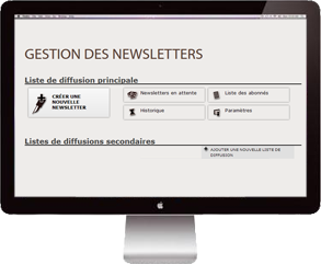 Outil de newsletter